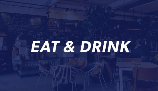 EAT & DRINK sticker