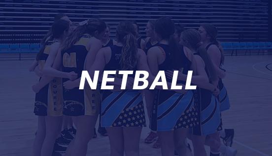Netball sticker